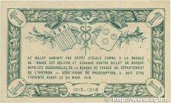 1 Franc FRANCE régionalisme et divers RODEZ et MILLAU 1915 JP.108.07 TTB