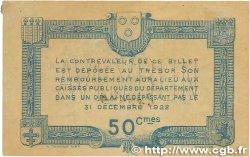 50 Centimes FRANCE régionalisme et divers Rodez et Millau 1917 JP.108.11 TTB