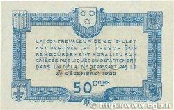 50 Centimes FRANCE régionalisme et divers Rodez et Millau 1917 JP.108.12 SPL+