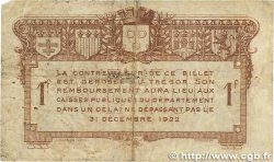 1 Franc FRANCE régionalisme et divers Rodez et Millau 1917 JP.108.14 B