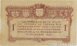 1 Franc FRANCE régionalisme et divers RODEZ et MILLAU 1917 JP.108.14 TB
