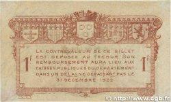 1 Franc FRANCE régionalisme et divers Rodez et Millau 1917 JP.108.15 pr.TTB