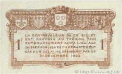 1 Franc FRANCE régionalisme et divers RODEZ et MILLAU 1917 JP.108.15 TTB+