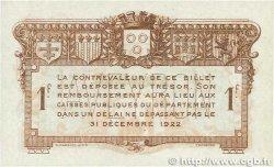 1 Franc FRANCE régionalisme et divers RODEZ et MILLAU 1917 JP.108.15 SUP+
