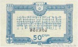 50 Centimes FRANCE régionalisme et divers Rodez et Millau 1921 JP.108.16 TTB+
