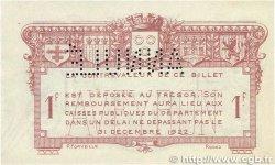 1 Franc FRANCE régionalisme et divers RODEZ et MILLAU 1921 JP.108.19 TTB