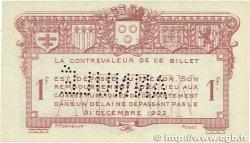 1 Franc FRANCE régionalisme et divers Rodez et Millau 1921 JP.108.19 SUP