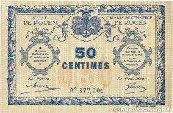 50 Centimes FRANCE régionalisme et divers Rouen 1920 JP.110.01 TTB+