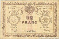 1 Franc FRANCE régionalisme et divers Rouen 1920 JP.110.03 B+