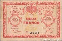 2 Francs FRANCE régionalisme et divers ROUEN 1920 JP.110.05 B