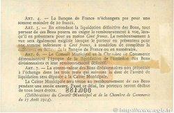 50 Centimes FRANCE régionalisme et divers ROUEN 1915 JP.110.07 TTB
