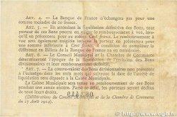 1 Franc FRANCE régionalisme et divers ROUEN 1915 JP.110.10 TB