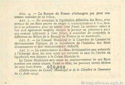 1 Franc FRANCE régionalisme et divers Rouen 1916 JP.110.21 TTB+