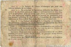 1 Franc FRANCE régionalisme et divers ROUEN 1917 JP.110.30 B