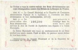 2 Francs FRANCE régionalisme et divers ROUEN 1918 JP.110.45 SUP+