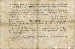 2 Francs FRANCE régionalisme et divers Rouen 1920 JP.110.52 B
