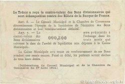 2 Francs FRANCE régionalisme et divers Rouen 1920 JP.110.52 TTB