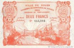 2 Francs FRANCE régionalisme et divers ROUEN 1920 JP.110.52 TTB+