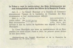 50 Centimes FRANCE régionalisme et divers Rouen 1920 JP.110.53 TTB