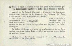 50 Centimes FRANCE régionalisme et divers Rouen 1920 JP.110.53 SUP