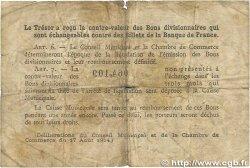 1 Franc FRANCE régionalisme et divers ROUEN 1920 JP.110.62 B