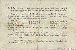 1 Franc FRANCE régionalisme et divers ROUEN 1920 JP.110.62 B+