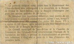 50 Centimes FRANCE régionalisme et divers Saint-Brieuc 1918 JP.111.01 B+