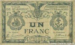 1 Franc FRANCE régionalisme et divers Saint-Brieuc 1918 JP.111.06 B+