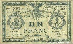 1 Franc FRANCE régionalisme et divers Saint-Brieuc 1918 JP.111.06 TTB