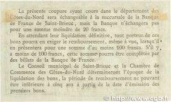 50 Centimes FRANCE régionalisme et divers SAINT-BRIEUC 1918 JP.111.11 TTB