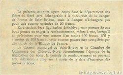 1 Franc FRANCE régionalisme et divers Saint-Brieuc 1918 JP.111.12 TB