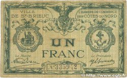 1 Franc FRANCE régionalisme et divers SAINT-BRIEUC 1918 JP.111.15 B