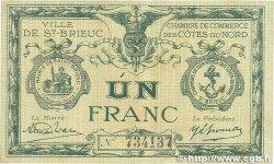 1 Franc FRANCE régionalisme et divers Saint-Brieuc 1918 JP.111.15 TB