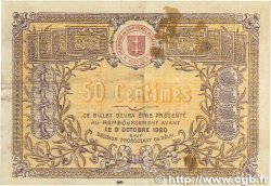 50 Centimes FRANCE régionalisme et divers SAINT-DIÉ 1915 JP.112.01 TB