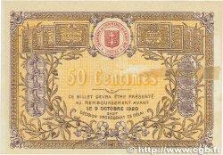 50 Centimes FRANCE régionalisme et divers Saint-Die 1915 JP.112.01 TTB