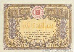 50 Centimes FRANCE régionalisme et divers SAINT-DIÉ 1915 JP.112.01 TTB+