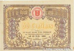 50 Centimes FRANCE régionalisme et divers SAINT-DIÉ 1916 JP.112.05 TTB