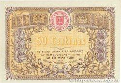 50 Centimes FRANCE régionalisme et divers SAINT-DIÉ 1916 JP.112.06 SUP