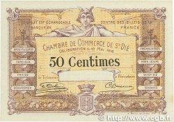 50 Centimes FRANCE régionalisme et divers Saint-Die 1916 JP.112.06 SPL