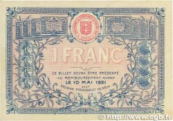 1 Franc FRANCE régionalisme et divers SAINT-DIÉ 1916 JP.112.08 TTB