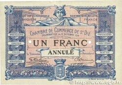 1 Franc FRANCE régionalisme et divers  1916 JP.112.03var. SUP