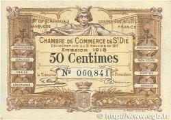 50 Centimes FRANCE régionalisme et divers SAINT-DIÉ 1917 JP.112.10 TTB