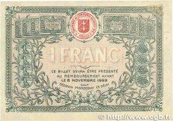 1 Franc FRANCE régionalisme et divers SAINT-DIÉ 1917 JP.112.11 TTB
