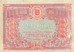 50 Centimes FRANCE régionalisme et divers SAINT-DIÉ 1920 JP.112.16 TB