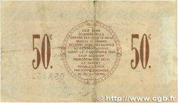 50 Centimes FRANCE régionalisme et divers Saint-Dizier 1915 JP.113.01 TB