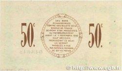 50 Centimes FRANCE régionalisme et divers SAINT-DIZIER 1915 JP.113.01 TTB