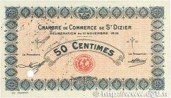 50 Centimes FRANCE régionalisme et divers SAINT-DIZIER 1915 JP.113.03var. TTB+