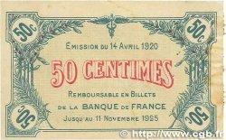 50 Centimes FRANCE régionalisme et divers Saint-Dizier 1920 JP.113.17 TB