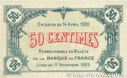 50 Centimes FRANCE régionalisme et divers Saint-Dizier 1920 JP.113.17 TTB