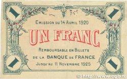 1 Franc FRANCE régionalisme et divers Saint-Dizier 1920 JP.113.19 pr.TTB